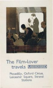 Vintage London underground poster - Film Lovers